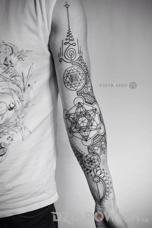 Tatuaże Pozostałe Na Przedramieniu Na Ramieniu Dla