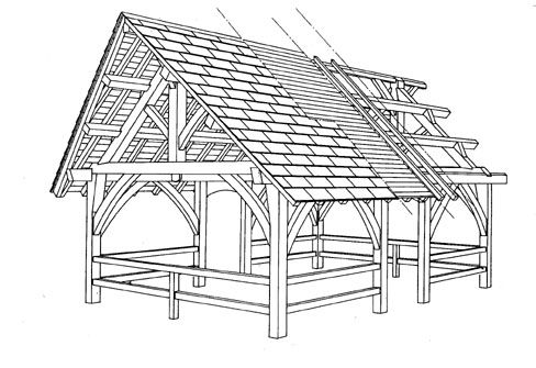 Traditional Timber Frame Homes by Marc Guilhemjouan - Traditional ...