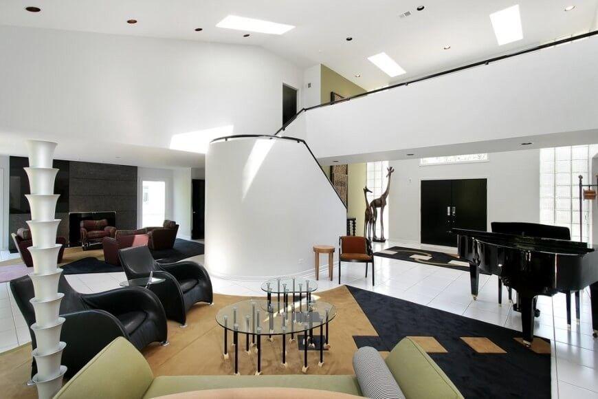 Gut bekannt 48 Wohnzimmer Säule Stile moderner   Fantastische Wohnzimmer Ideen HM24