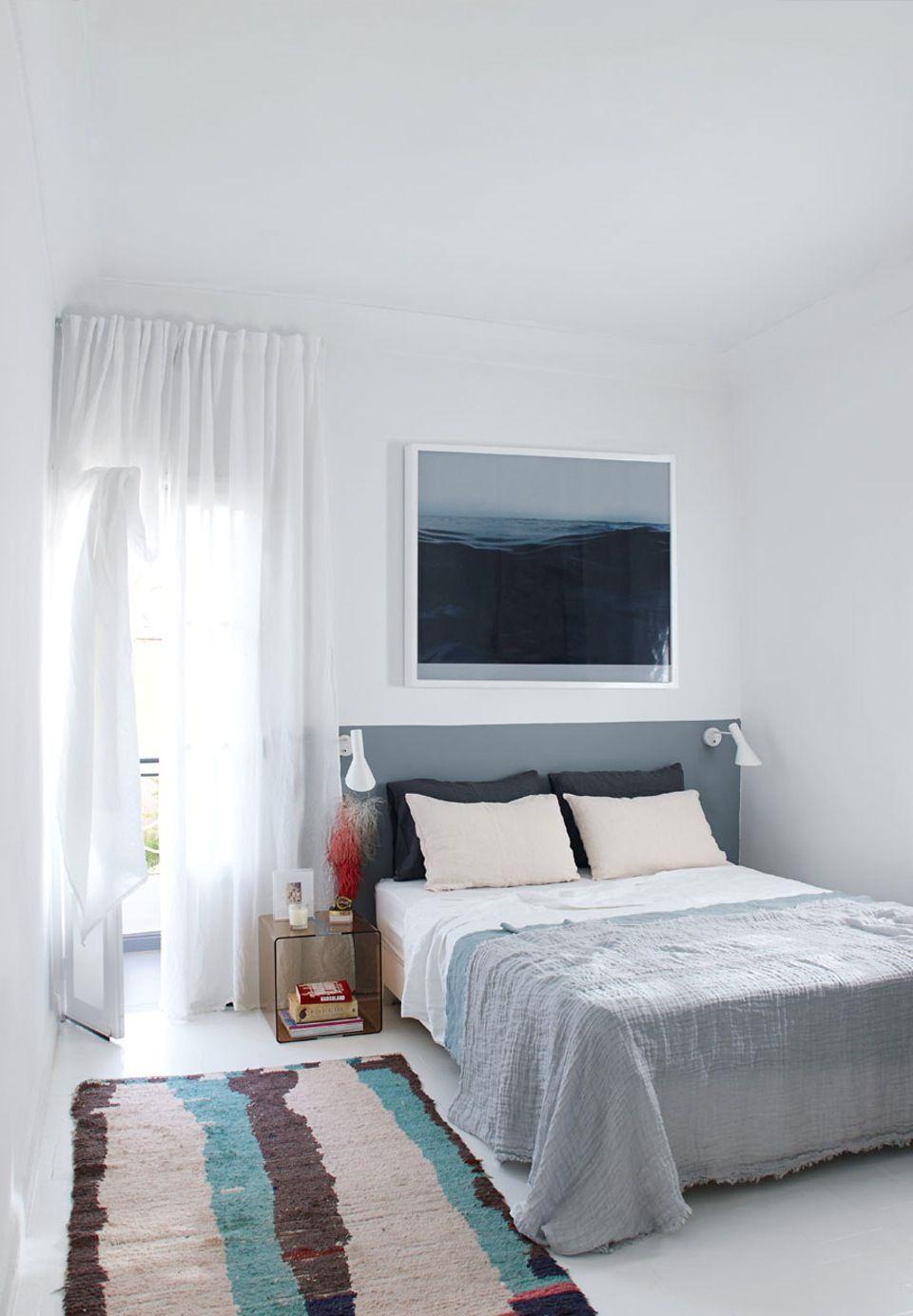 Bedroom in calm tones