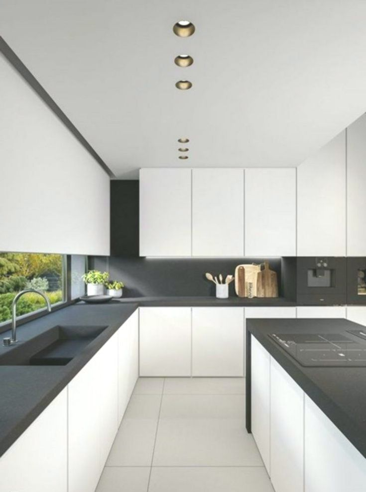 Amazing Here Are 15 Modern Minimalist Kitchen Design Ideas In 2019 Amazing Design Ideas Ki White Kitchen Design White Kitchen Decor White Modern Kitchen,Color Combination For Black Shirt