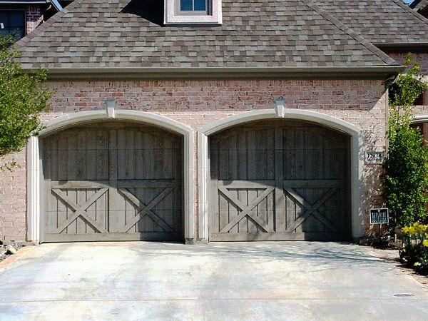 Barn-style garage doors by Dallas Doors Love the lookuld we