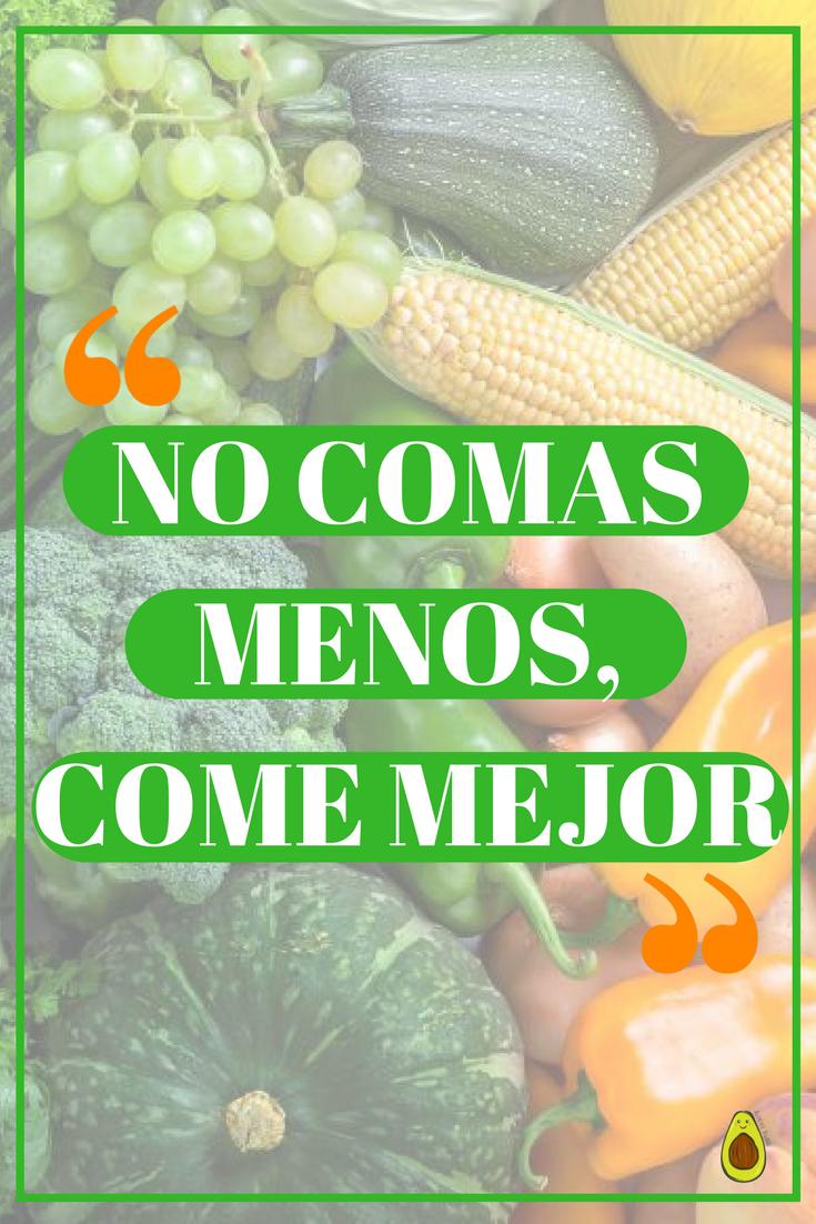 Alimentación Saludable Y Nutrición En 2019 Frases De