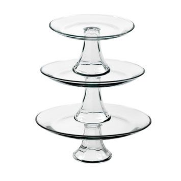 Anchor Glass Cake Stands These Can Be Used Seperately Or Tiered