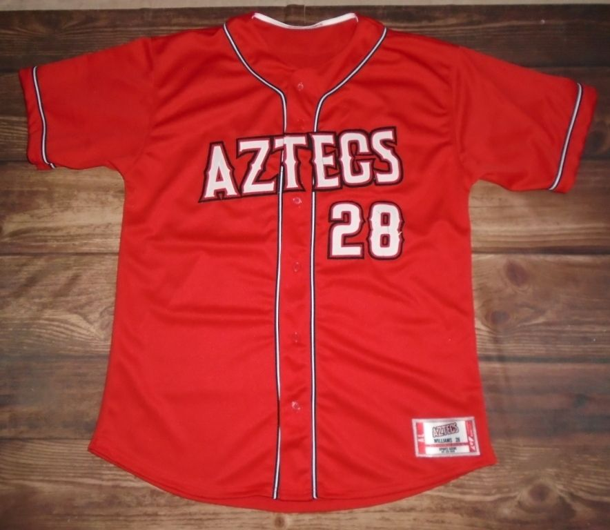 6b5cce9b0a0 Aztecs Baseball custom jersey created at Sports Scene in Palatine, IL!  Create your own