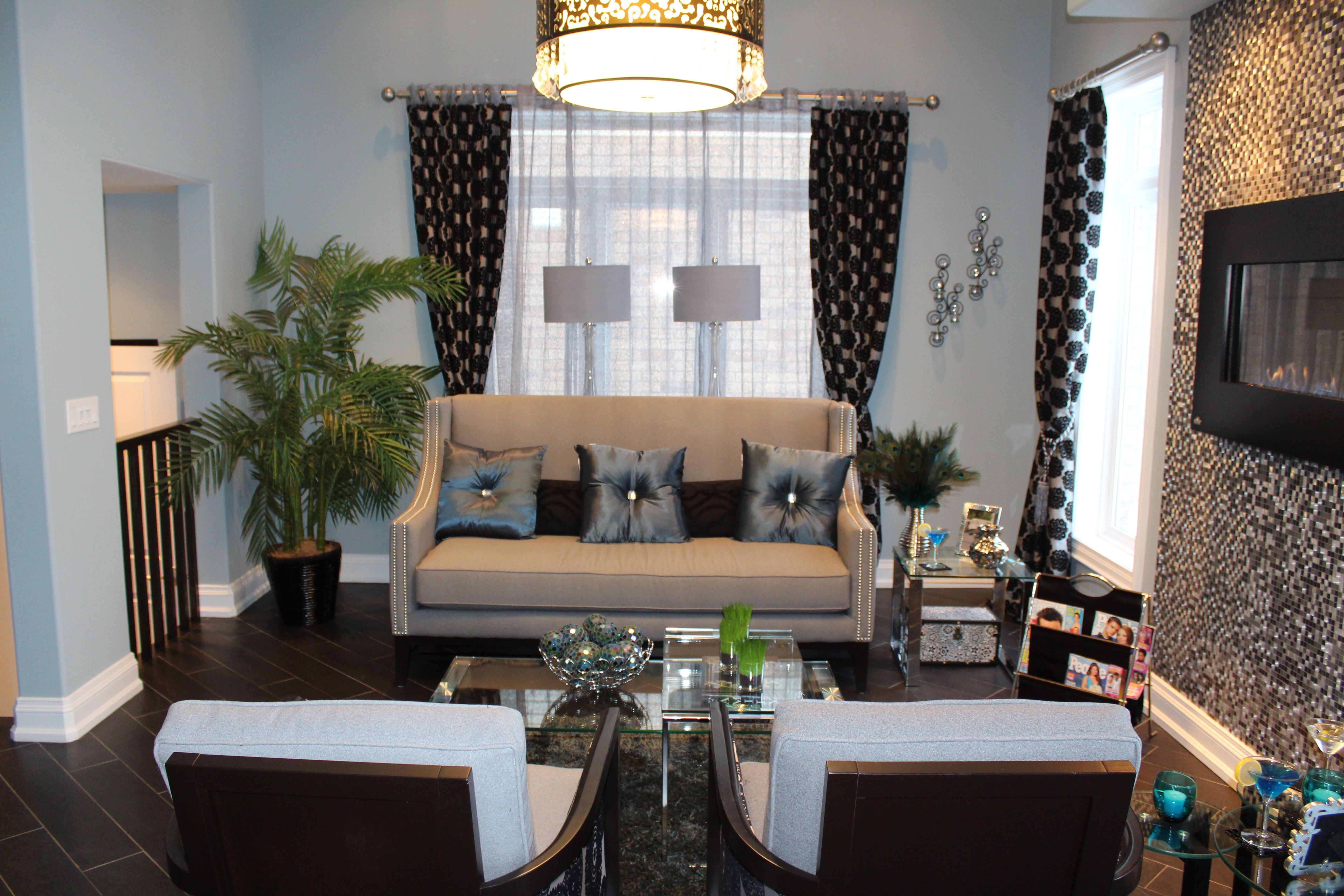 Living room dcor old glamour design Home