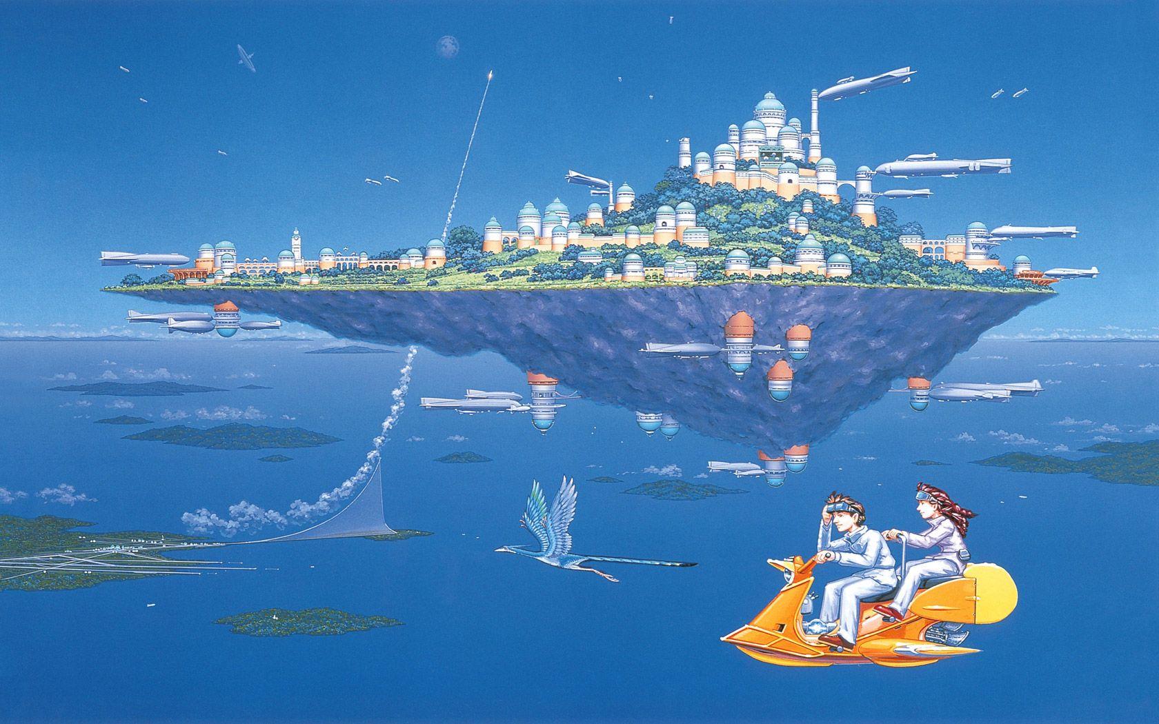 厳選壁紙集天空の城ラピュタ
