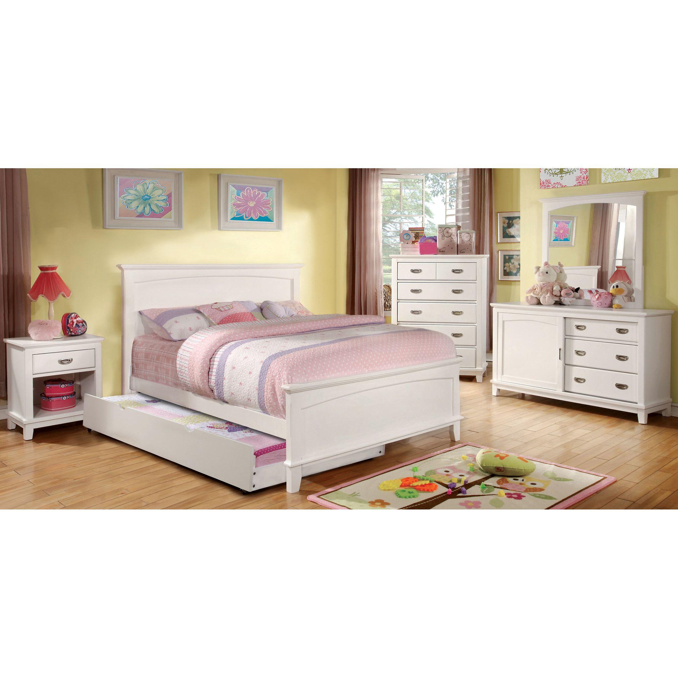 Hokku Designs Panel Bed Full size bed frame, Bed