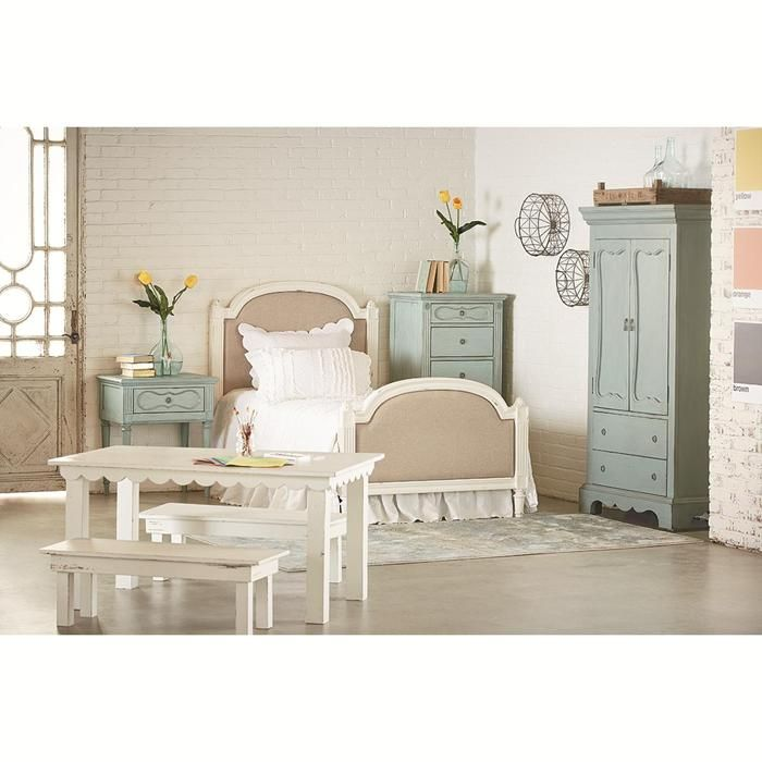 Magnolia Home French Inspired Armoire in Blue | Magnolia ...