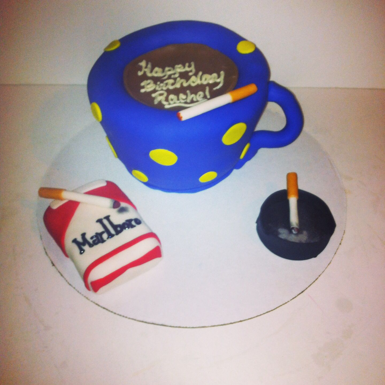 Happy Birthday Rachel Hervice Coffee Marlboro Cigarettes