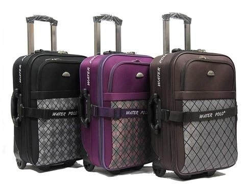 Cabin size luggage with spacious compartments and sturdy built ...