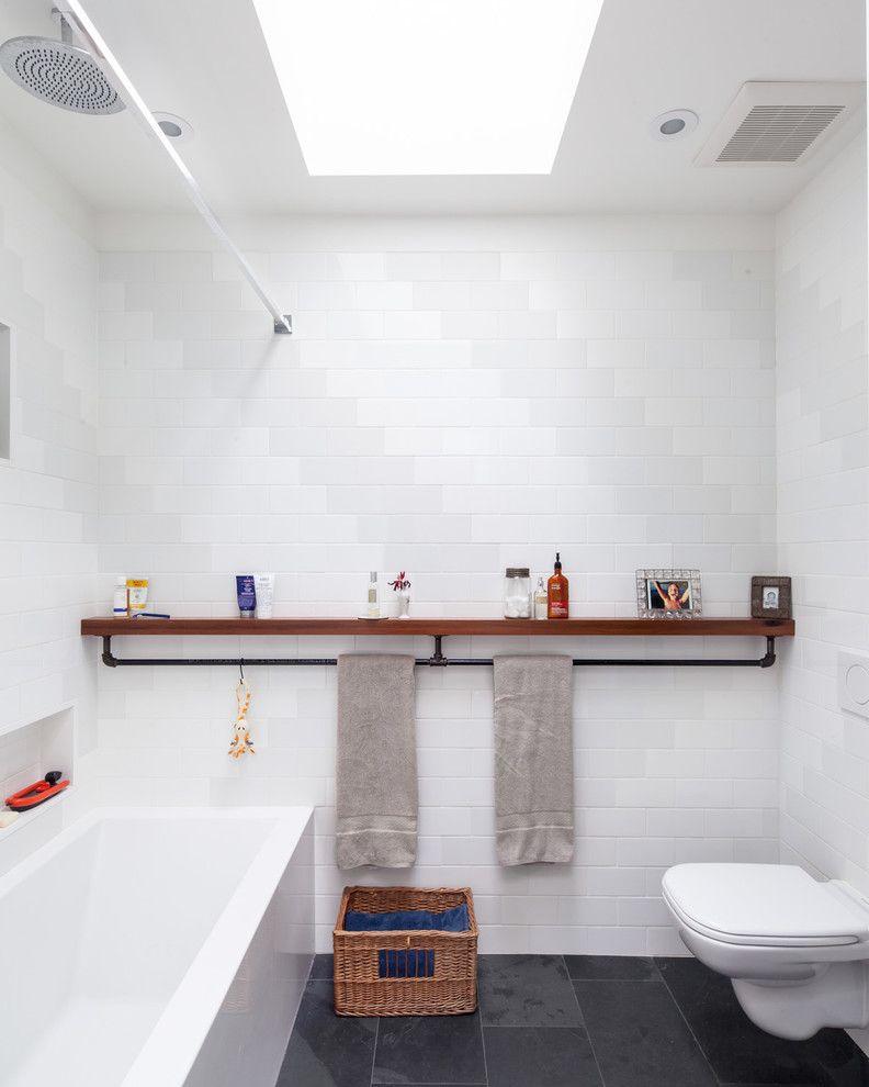 ikea towel rack Bathroom Industrial with bathroom ceiling mount ...