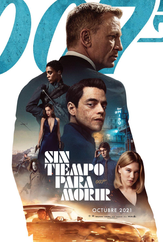 James Bond 007 No Time To Die Trailer Posters De Personajes En 2021 Peliculas En Linea Gratis James Bond Peliculas Completas