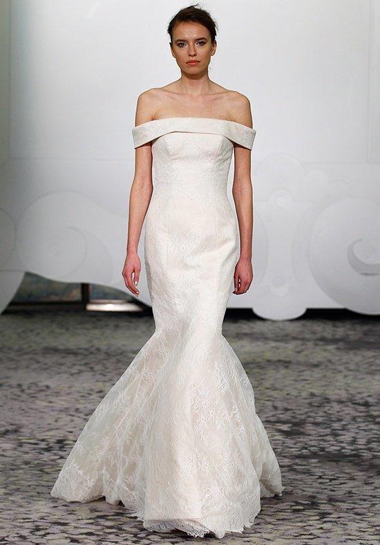 Rivini by Rita Vinieris gown with sheath silhouette, bateau neckline ...