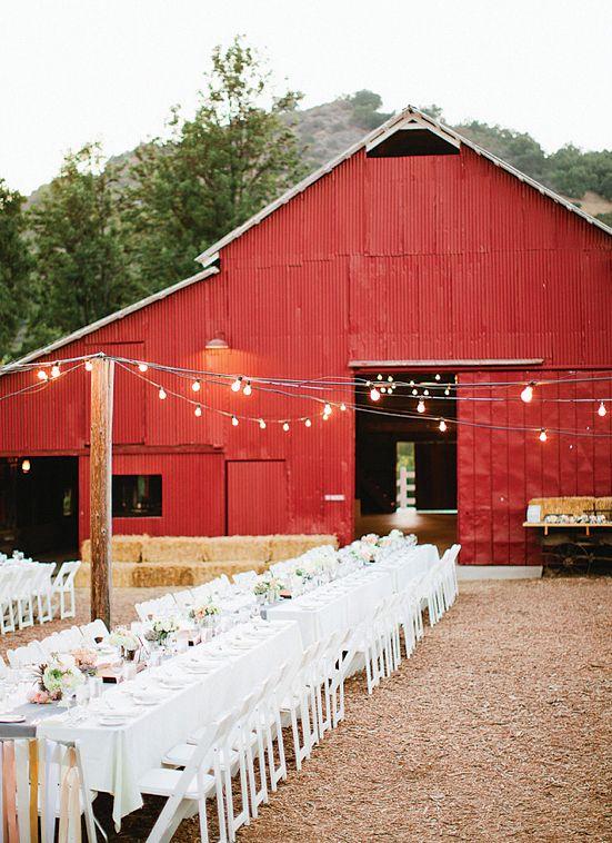 Wedding Venue The Big Red Barn At The Ojai Valley Inn