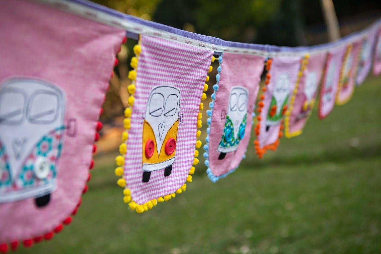 bandeirolas em tecido para decoração