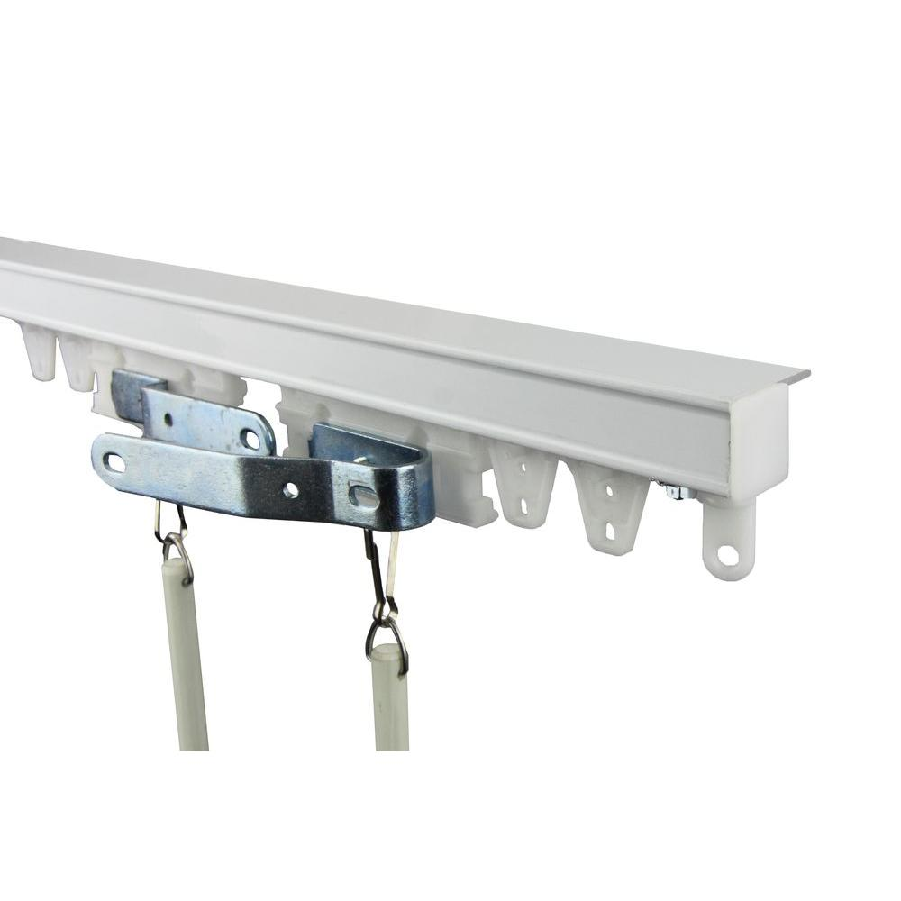 Rod Desyne 144 In Commercial Ceiling Track Kit Ceiling Curtains