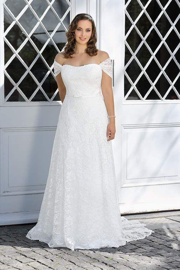 Brautkleider Grosse Grossen Atemberaubend Schon Brautkleider Plus