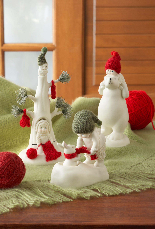 Department 56 snowbabies ornaments - Department 56 Snowbabies Babies Got New Clothes Collection