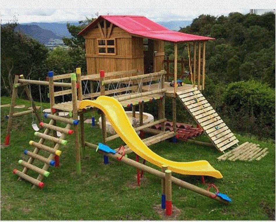 14 Ideas De Juegos Jardín Parques Infantiles Juegos Para Jardin Casas De Juego