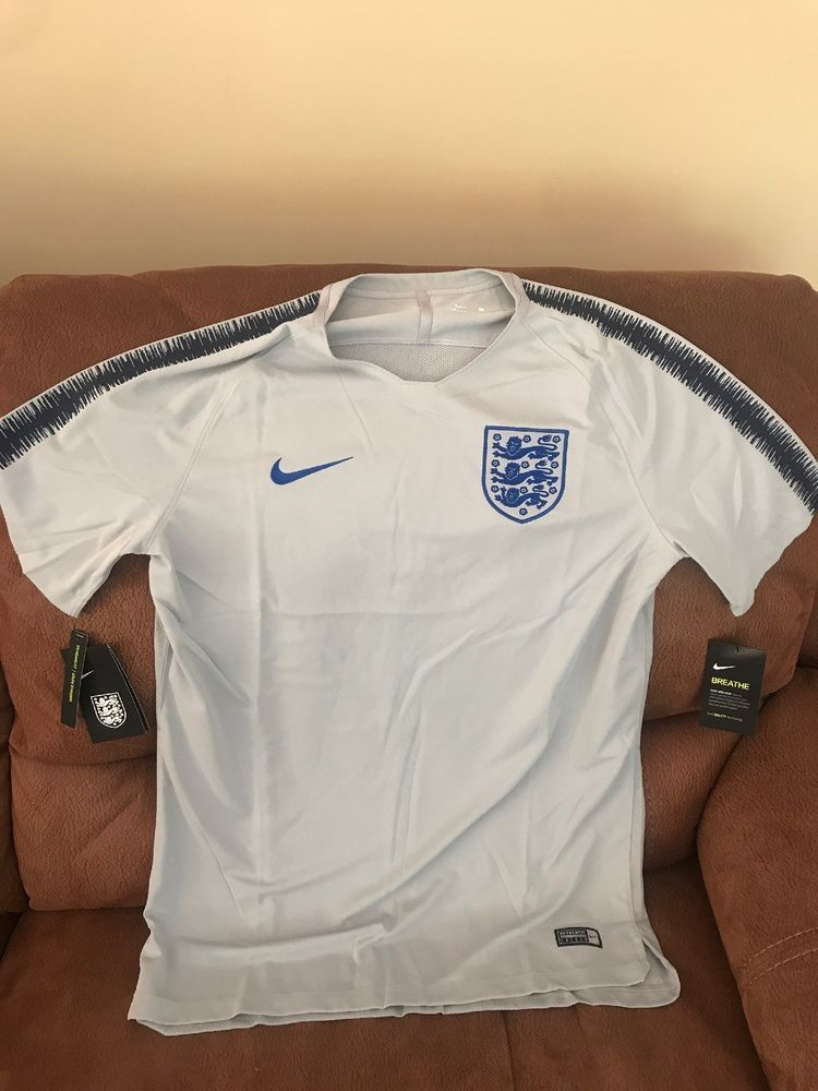 check out 8887c 956b5 Nike England National Team Pre Match Practice Soccer Jersey ...
