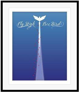 Lynyrd skynyrd song lyric artwork poster free bird prints lynyrd skynyrd music poster artwork free bird song lyrics art print wall decor ebay publicscrutiny Choice Image