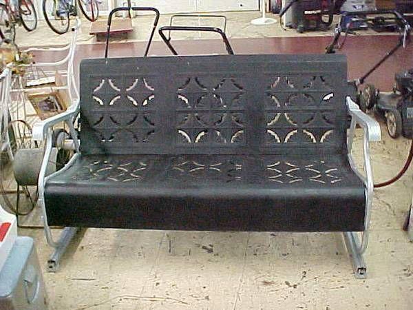 Antique Vintage Retro 1940 S 1950 S Metal Patio Porch