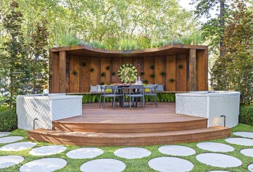 Modern Garden Decor And Landscape Ideas Modern Landscaping Modern Garden Large Backyard Landscaping