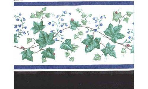 Leafs B6023ac Wallpaper Border