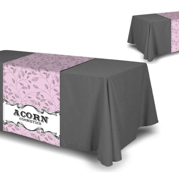 Full Color Table Runner Table Cloth Not Included Vendor Table