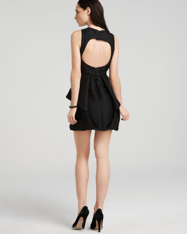 Black dresses for wedding  keyhole back dress by tibi  my wedding ideas  Pinterest  Tibi dresses