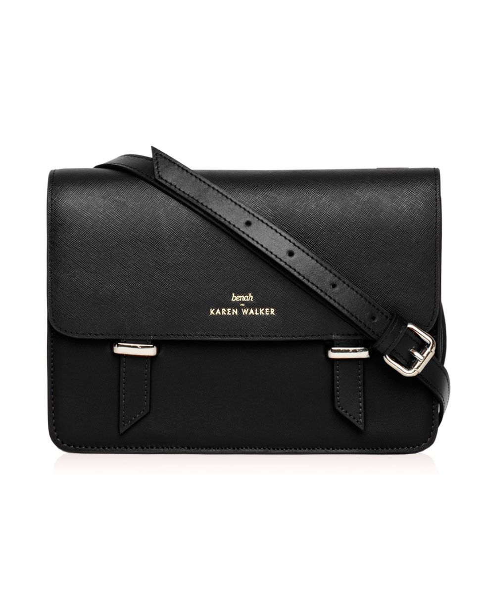 29f1271c1aef Sloane - Satchel in Black - Benah for Karen Walker - Pre-Order ...