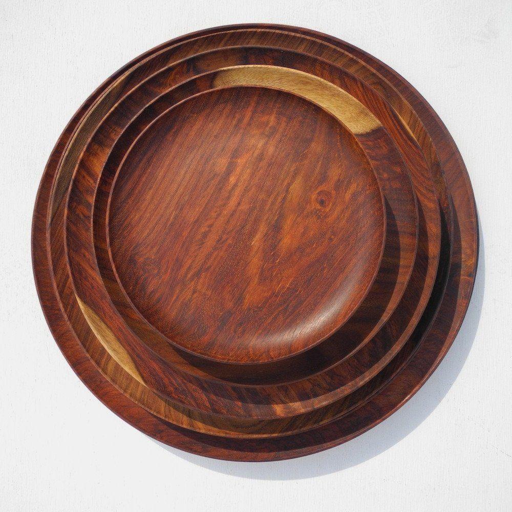 Holland Round Tray Round tray, Tray, Wooden tray