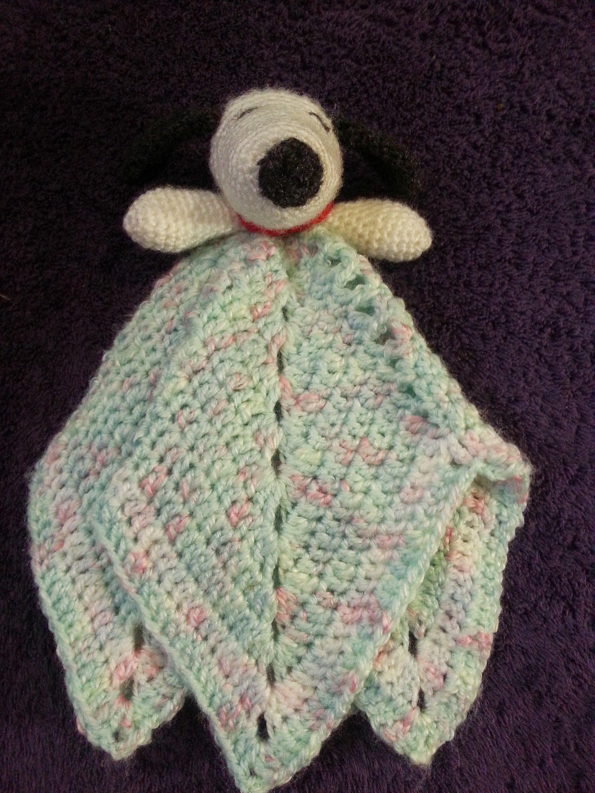 Amigurumi Snoopy Lovey Baby Blanket Star Shaped Baby Stuff