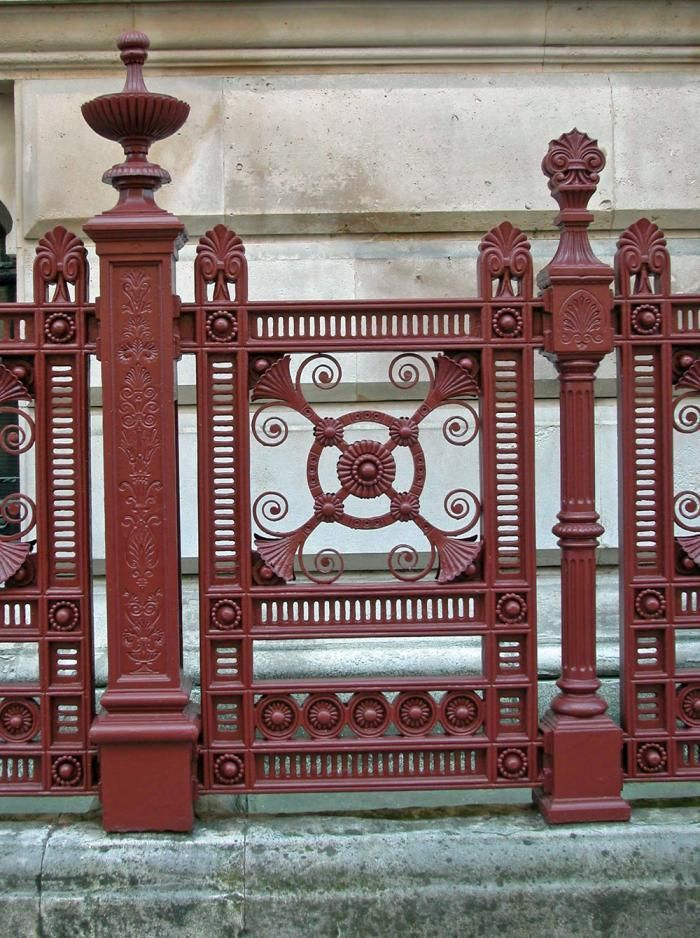 Paint Colors For Iron Gates And Fences Iron Gates Wrought Iron