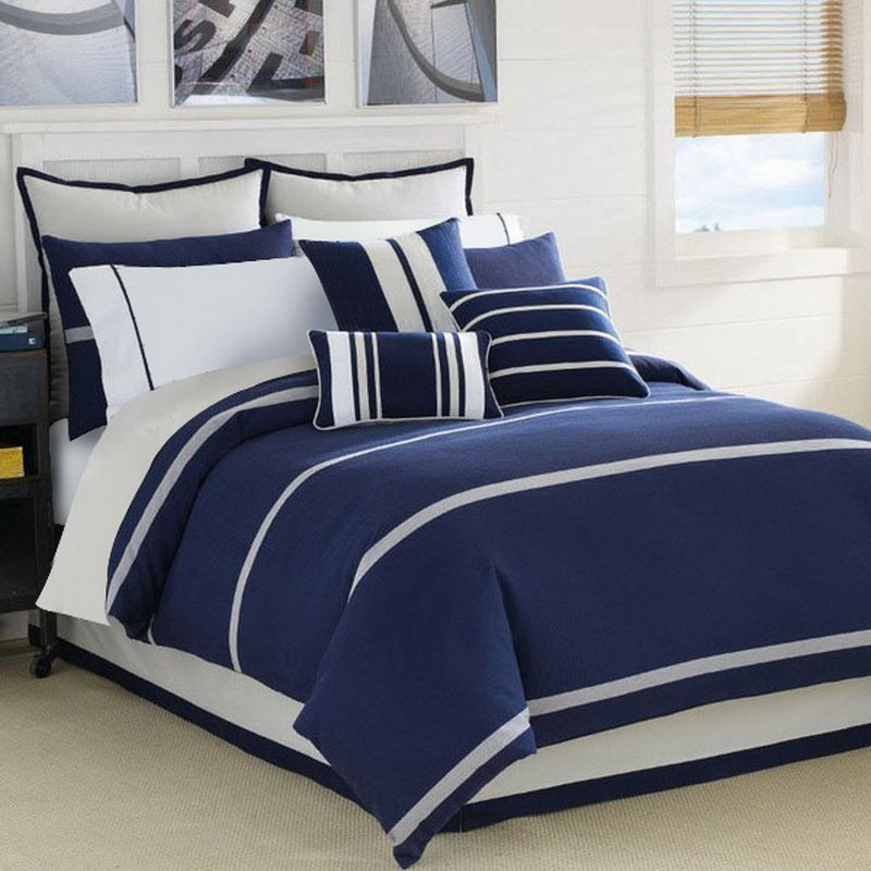 Prince Of Tennis Navy Blue Duvet Cover Set Luxury Bedding Blue