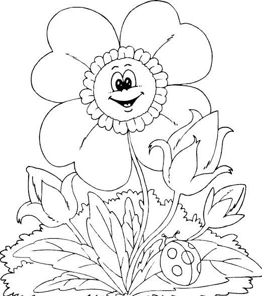 Free printable spring flowers coloring printable spring day free printable spring flowers coloring printable spring day cartoon coloring pages mightylinksfo