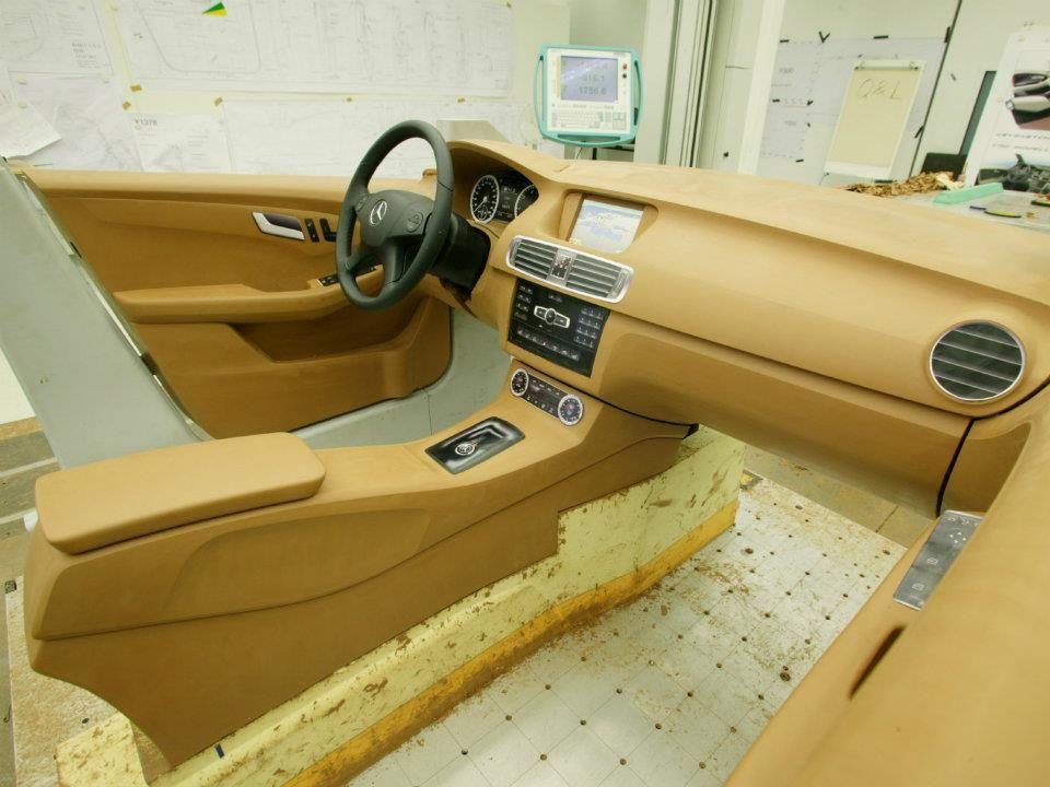 Og 2011 Mercedes Benz B Class Mk2 Interior Clay Model Luxury