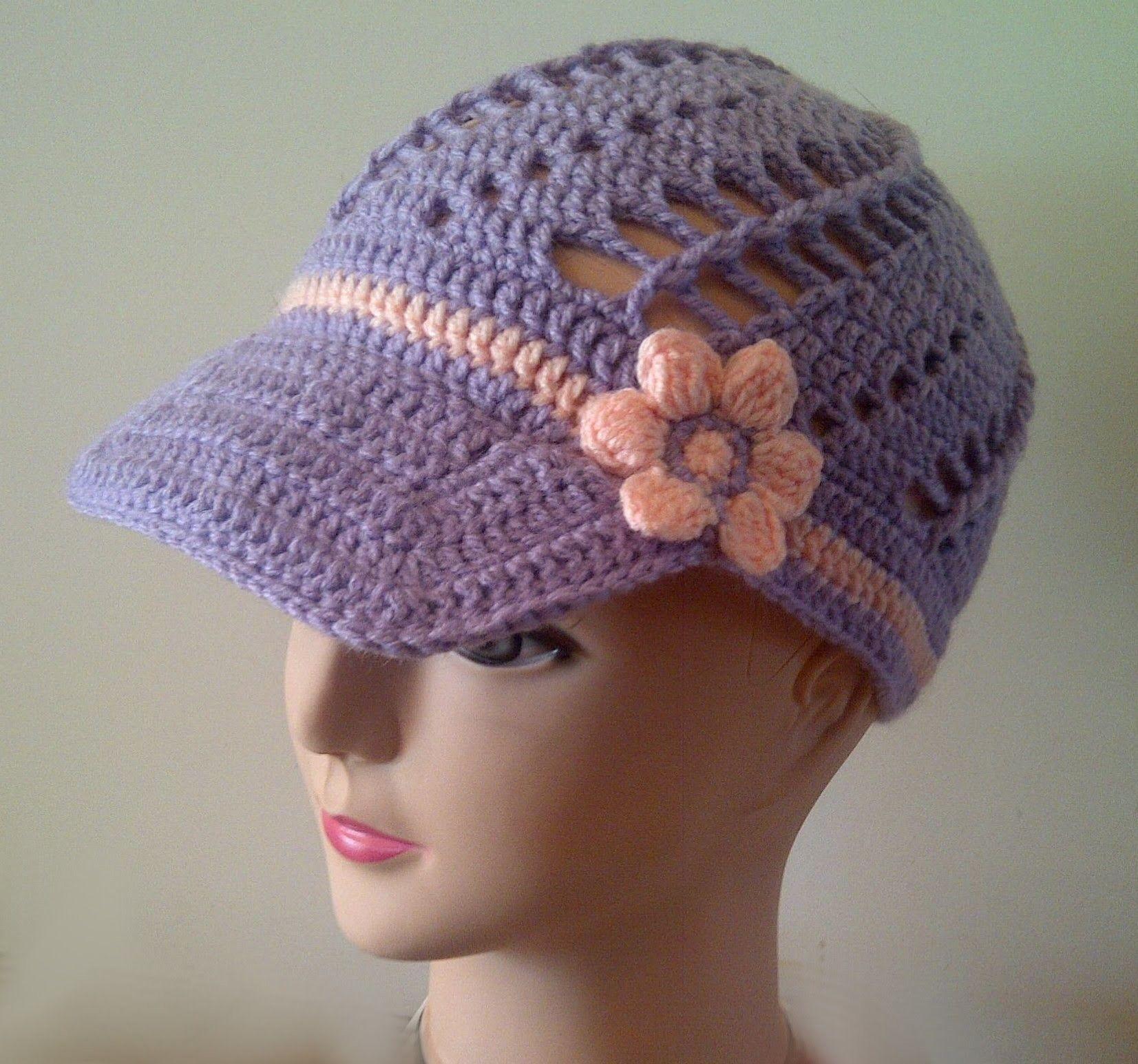 Free crochet flower pattern for spring baseball cap free crochet free crochet flower pattern for spring baseball cap bankloansurffo Choice Image