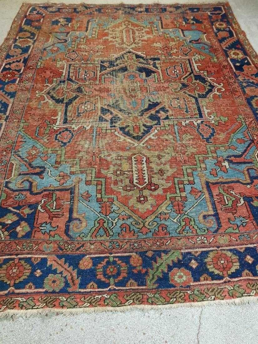 Carpet Runners 30 Inches Wide Carpetrunnersonlandings In 2020 Antique Heriz Rug Heriz Rugs Rugs