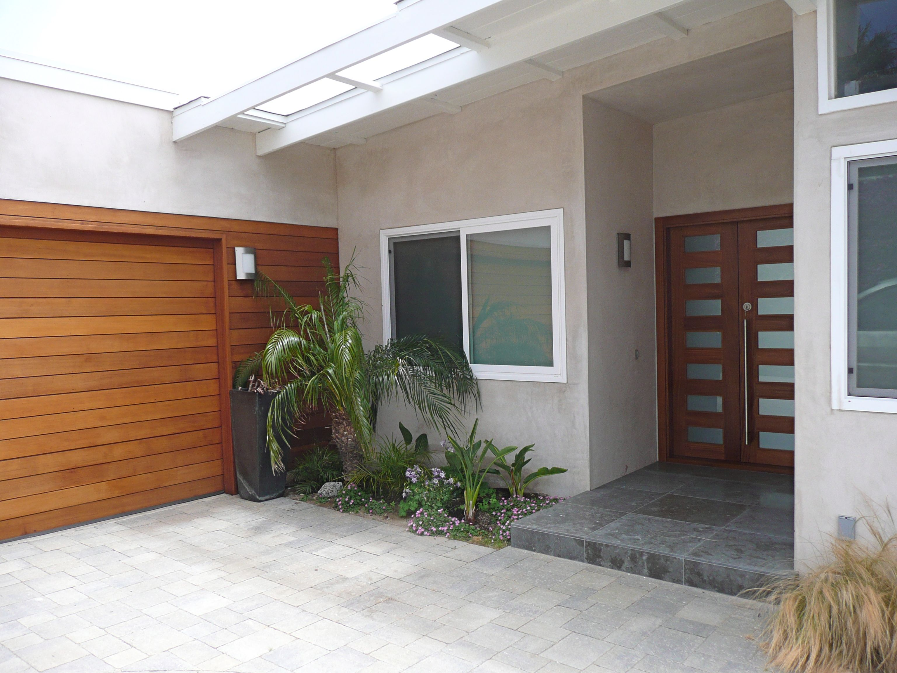 garage door with entry doorModern Garage Doors  Modern garage doors Modern garage and