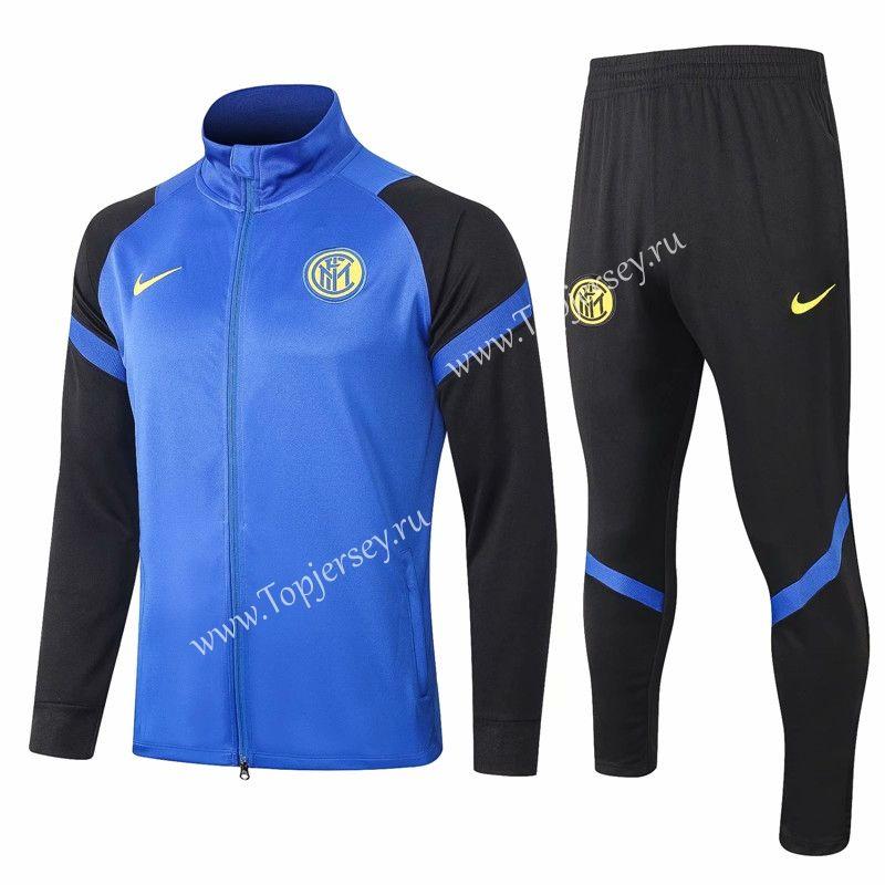 2020-2021 Inter Milan Camouflage Blue Thailand Soccer Jacket ...
