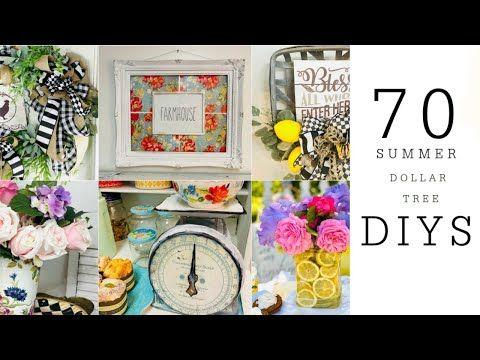 ((NEW)) 70 DIY DOLLAR TREE DECOR CRAFTS💐🍋SUMMER CRAFTING MARATHON ep 8 Olivia's Romantic Home DIY