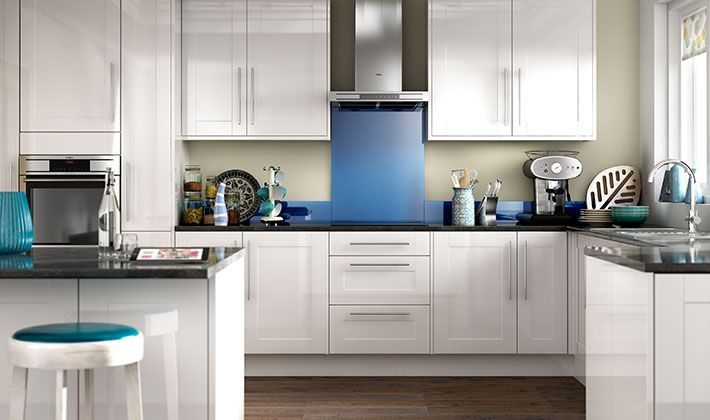 Wickes Atlanta White Provides A Modern Take On The Traditional Shaker  Kitchen, Combining Classic Lines
