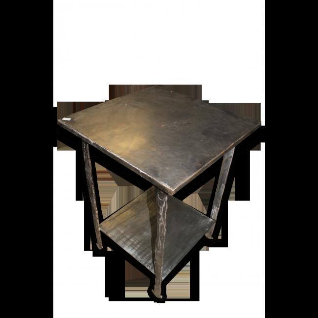 Table Haute D Appoint Metal Gris Bon Etat Industriel Table Haute Mobilier De Salon Deco Vintage