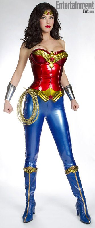wonder woman costume Adrianne palicki