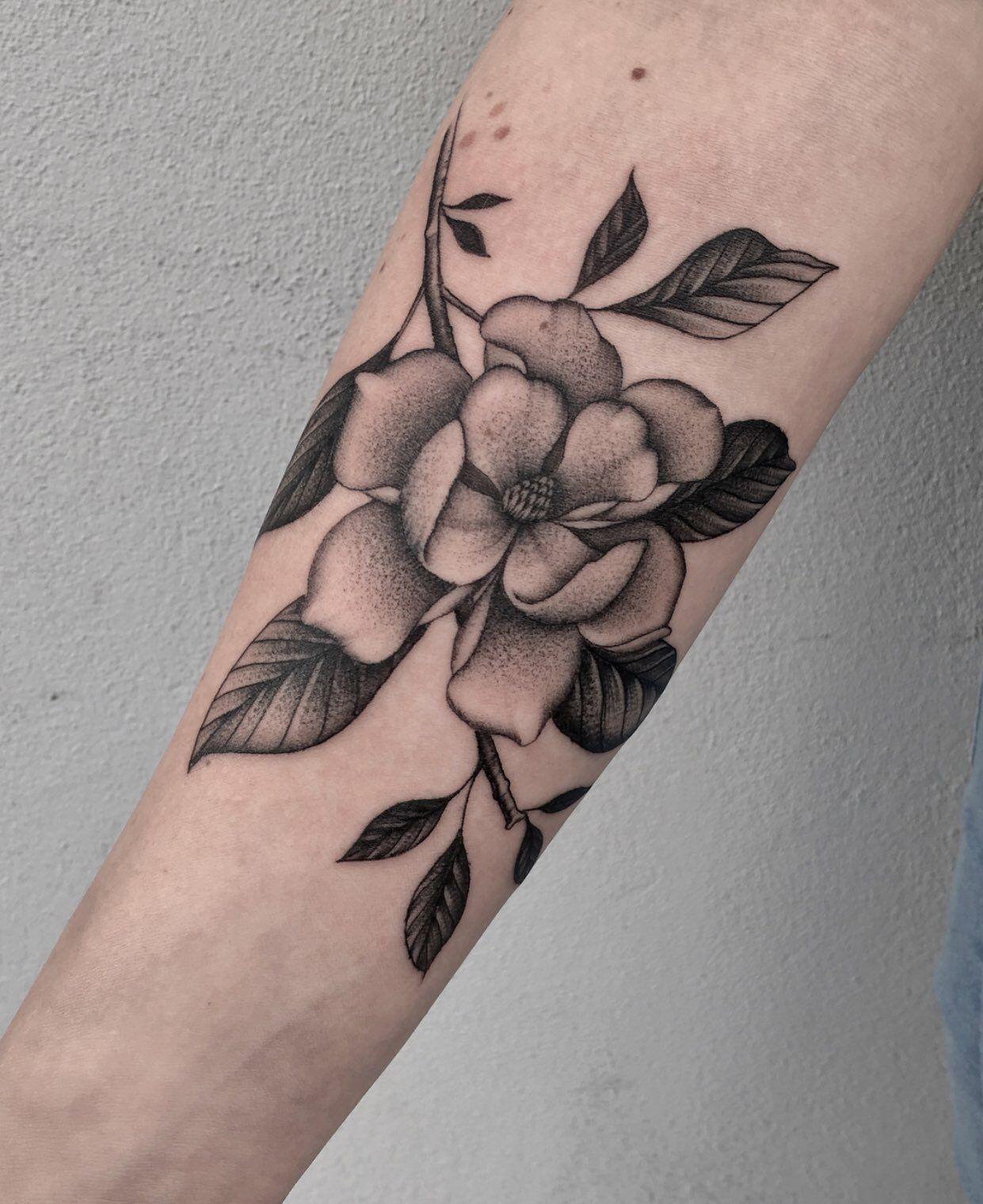 Magnolia Flower Tattoo Tattoos Magnolia Tattoo Tattoos Tattoo