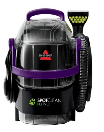 Bissell 2458 Spotclean Pro Pet Portable Carpet Cleaner Purple