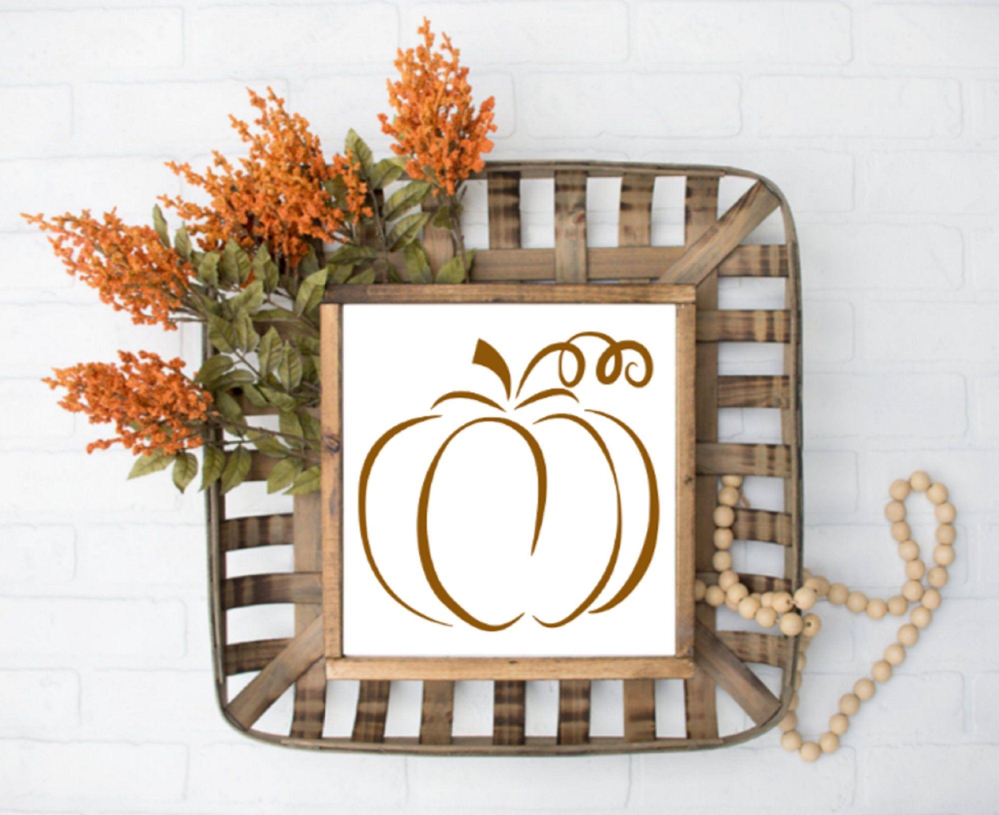 Best Pumpkin 12X12 Living Room Decor Fall Wall Hangings 400 x 300