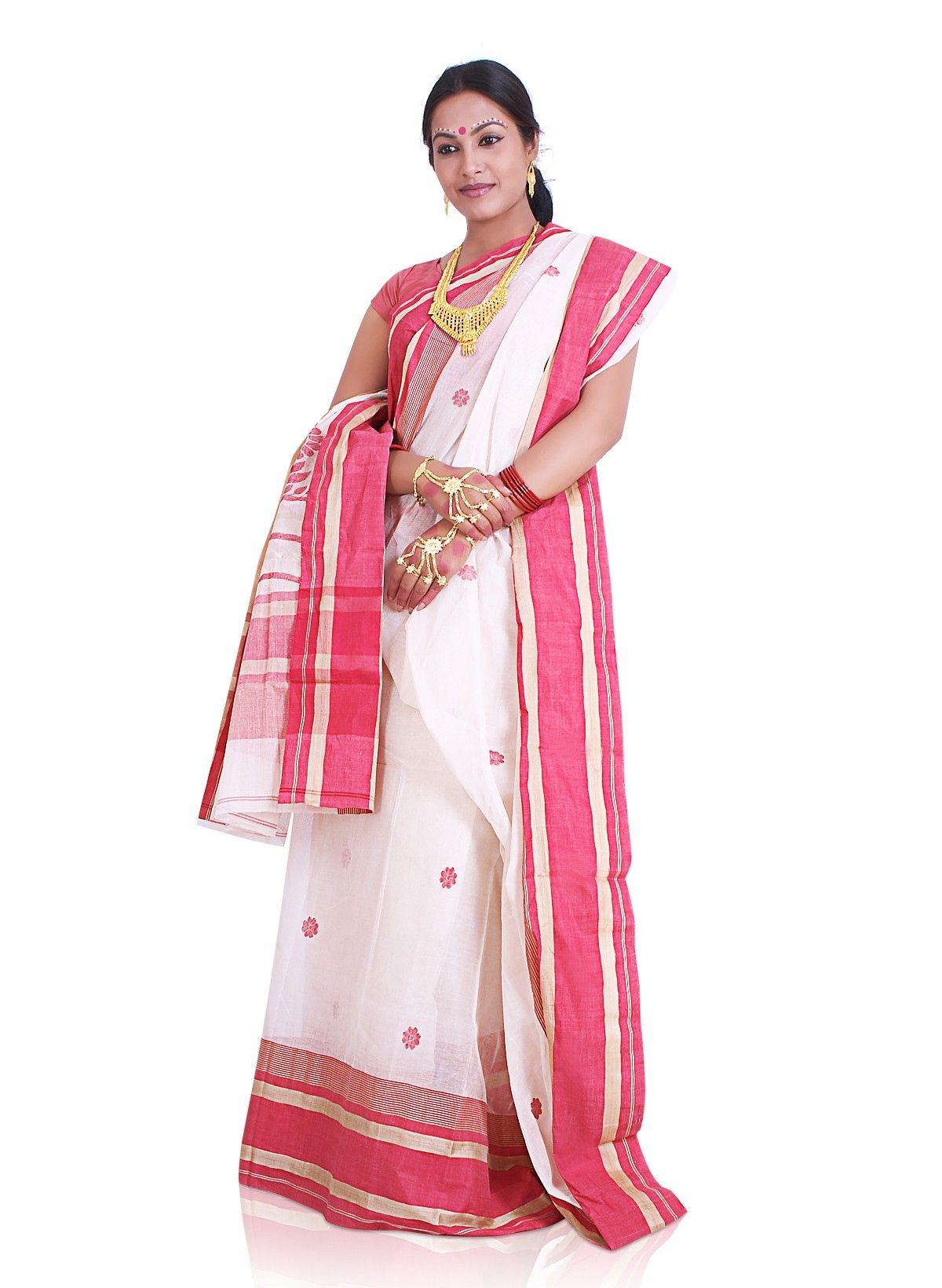 Traditional Bengali Saree And Drape Prabodh Baisiwala Pinterest Bengali Saree Saree And Saris